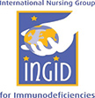 International Nursing Group for Immunodeficiencies Logo